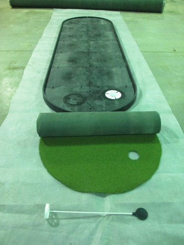 golf putting green mats