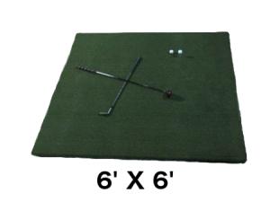 golf practice mats